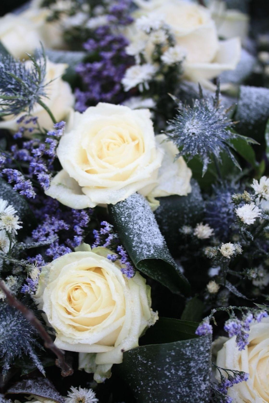 Winter Wedding Flowers.Flowers For A Winter Wedding Flower Press