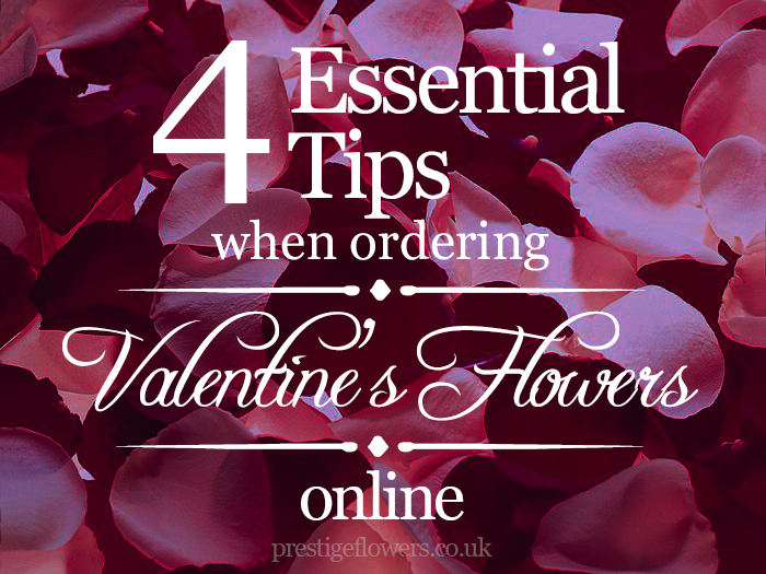 4 Essential Tips When You Order Valentine's Day Flowers Online
