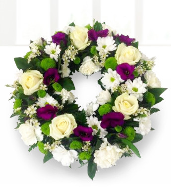 How to make your own sympathy wreath