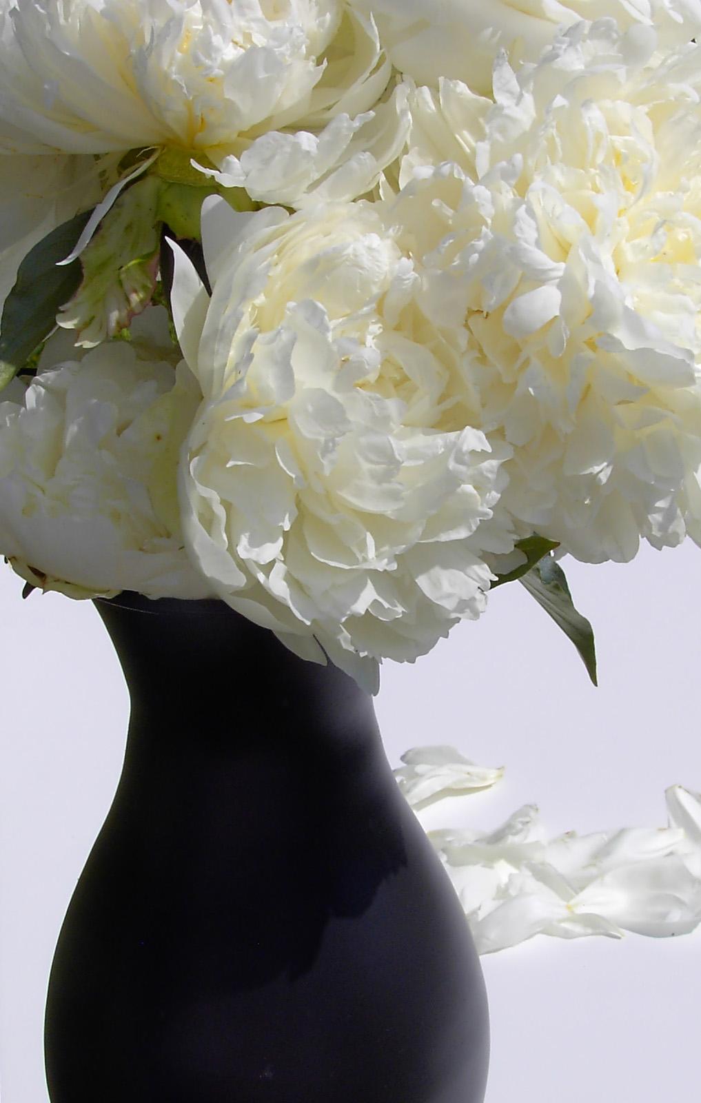 Spring flower centrepieces