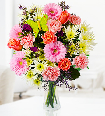 Send flowers to thank your clients