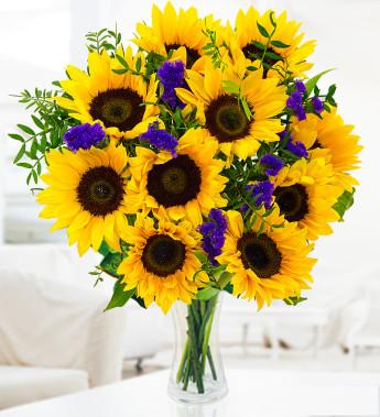 Send joy when you send sunflowers
