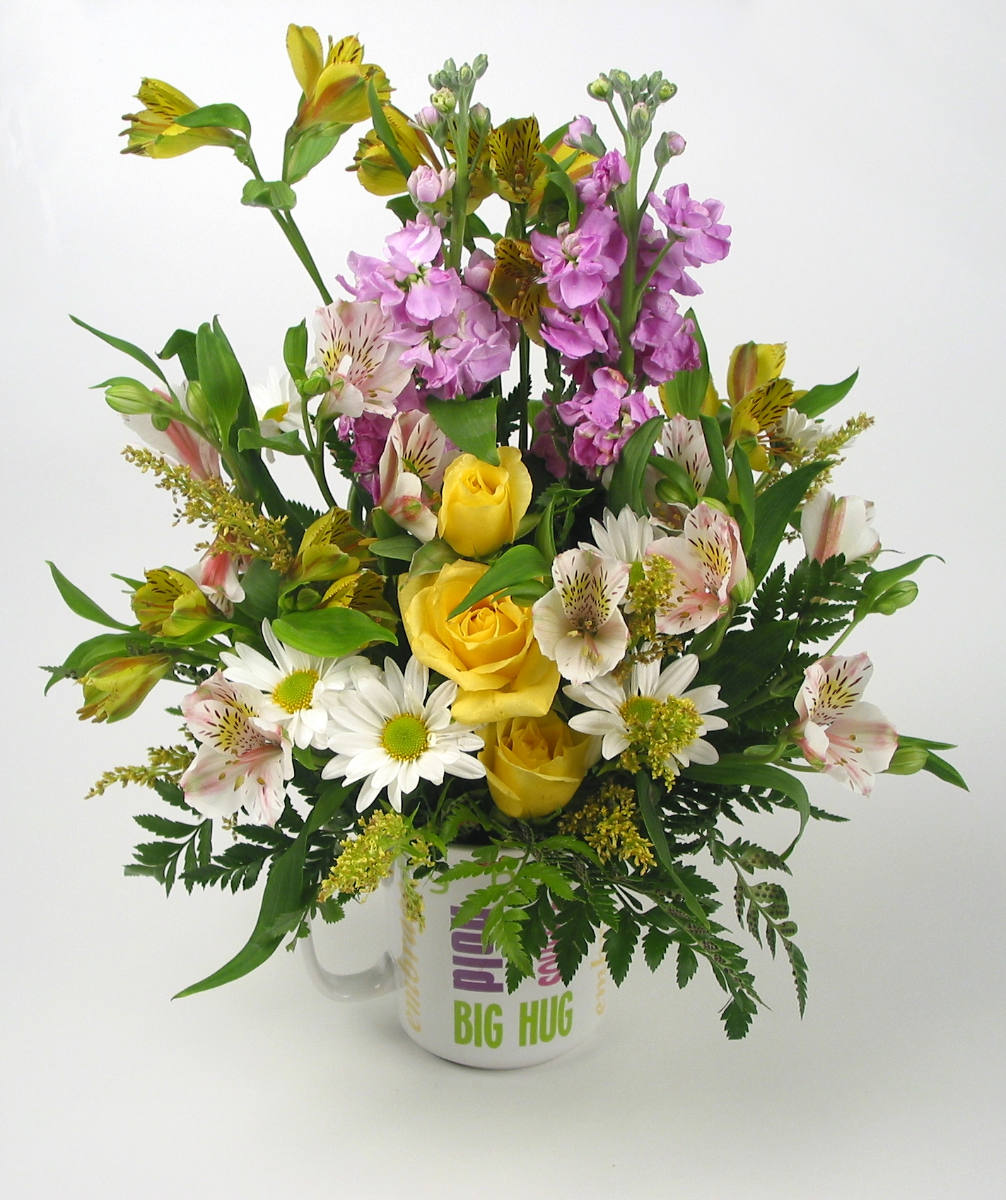 Uses for flowers with broken stems