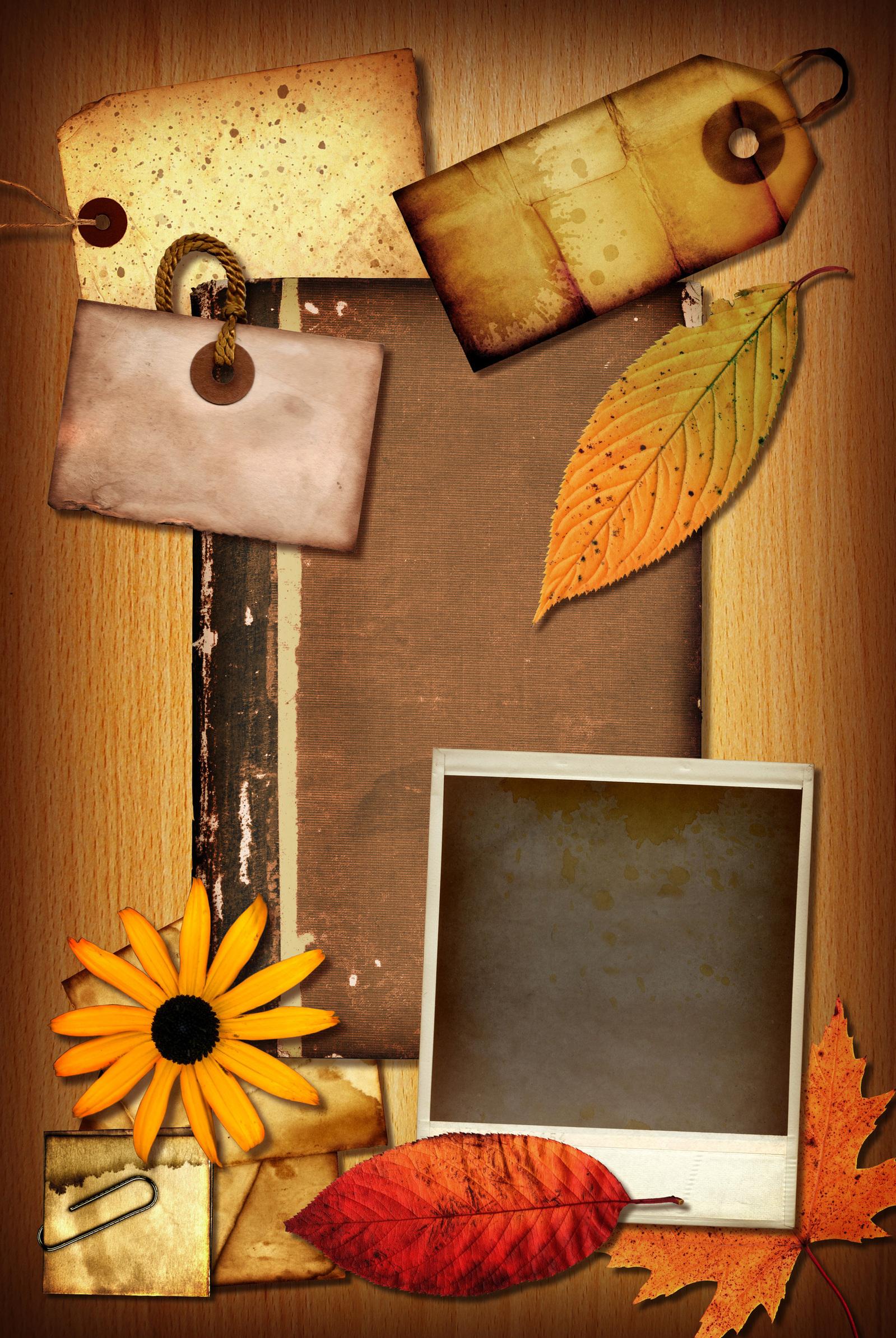 Fun autumn flower crafts