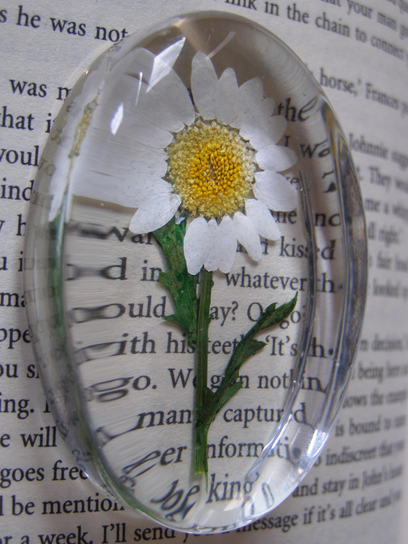 Make pressed flower ornaments