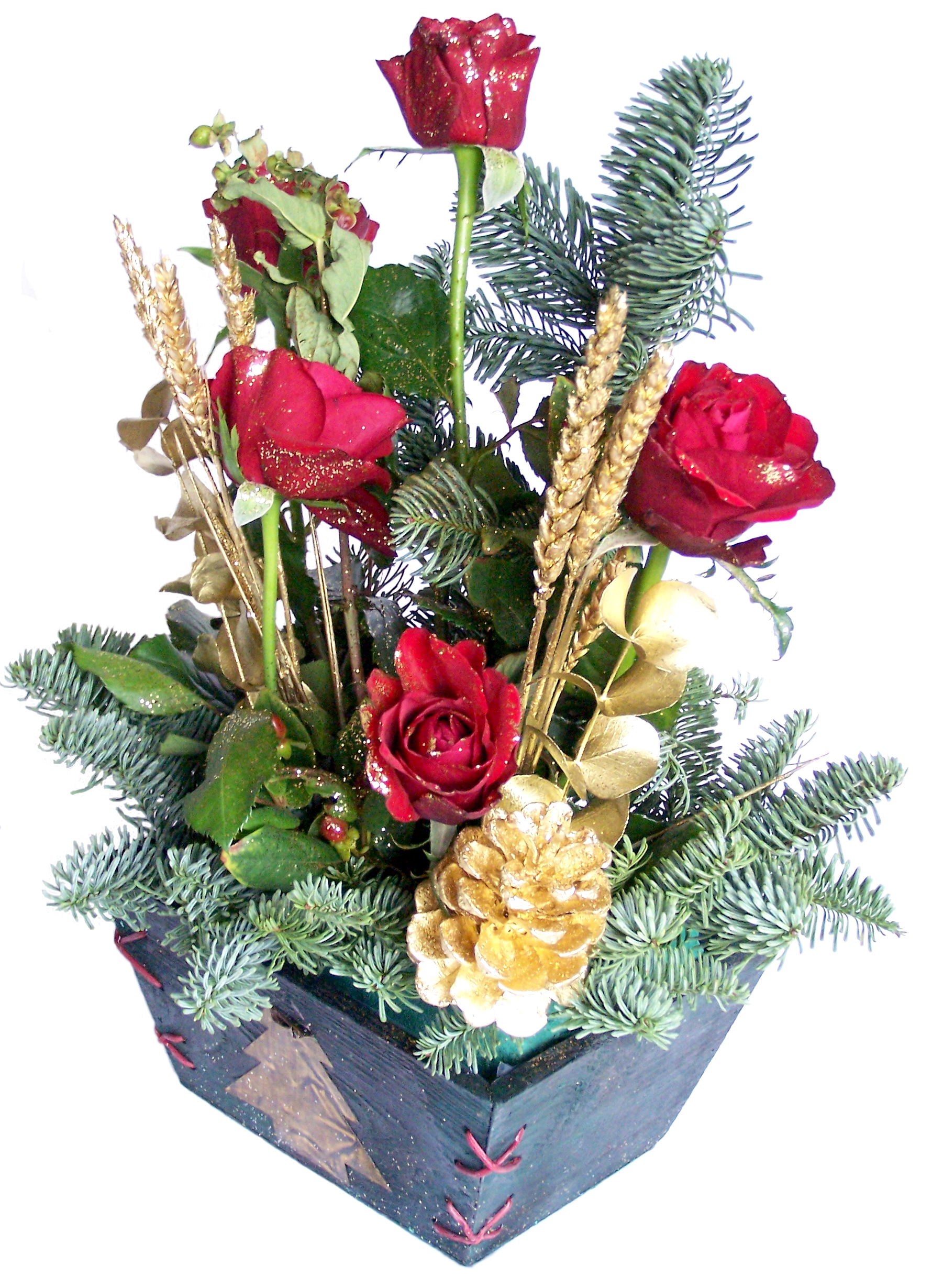 Festive flowers for your employees