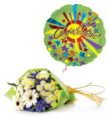 Welcome a January baby with fresh flowers