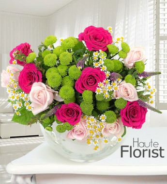 New Year's flowers for your party host