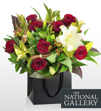 Celebrate Christmas by sending flowers