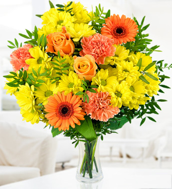 Order flowers to brighten your office in winter