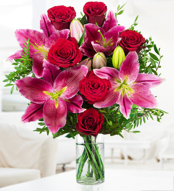 International flower delivery for your Valentine
