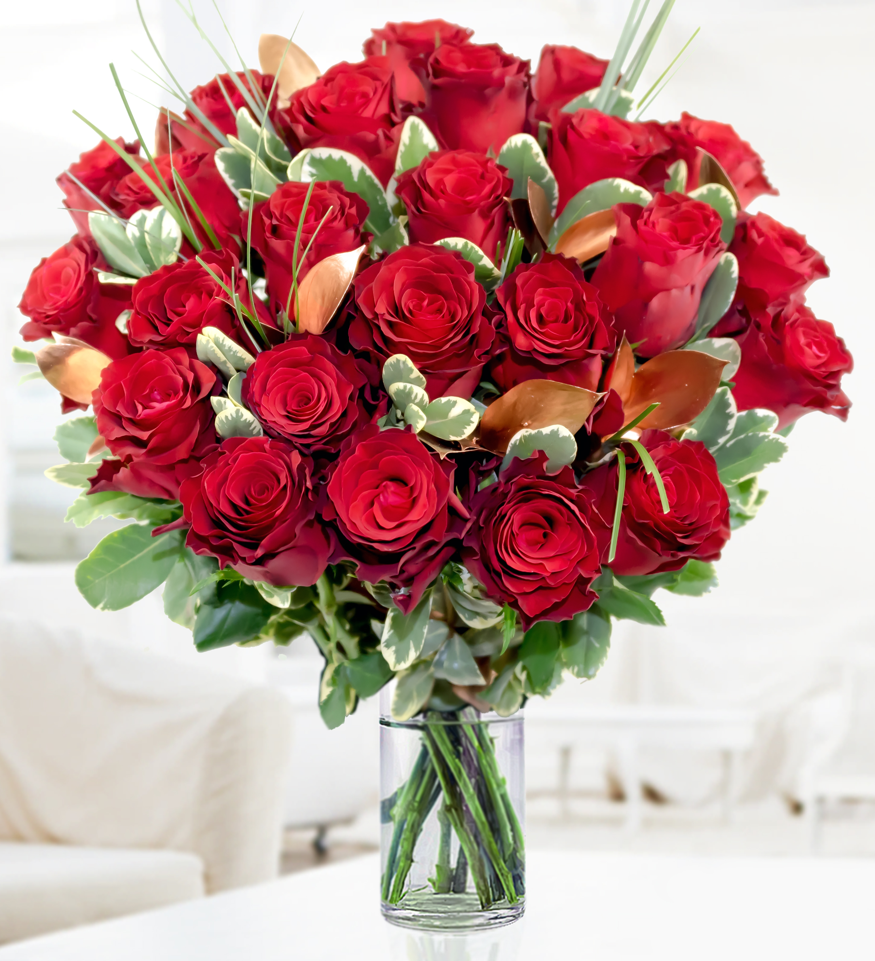 Romantic Valentines Day flowers for your wife - Flower Press