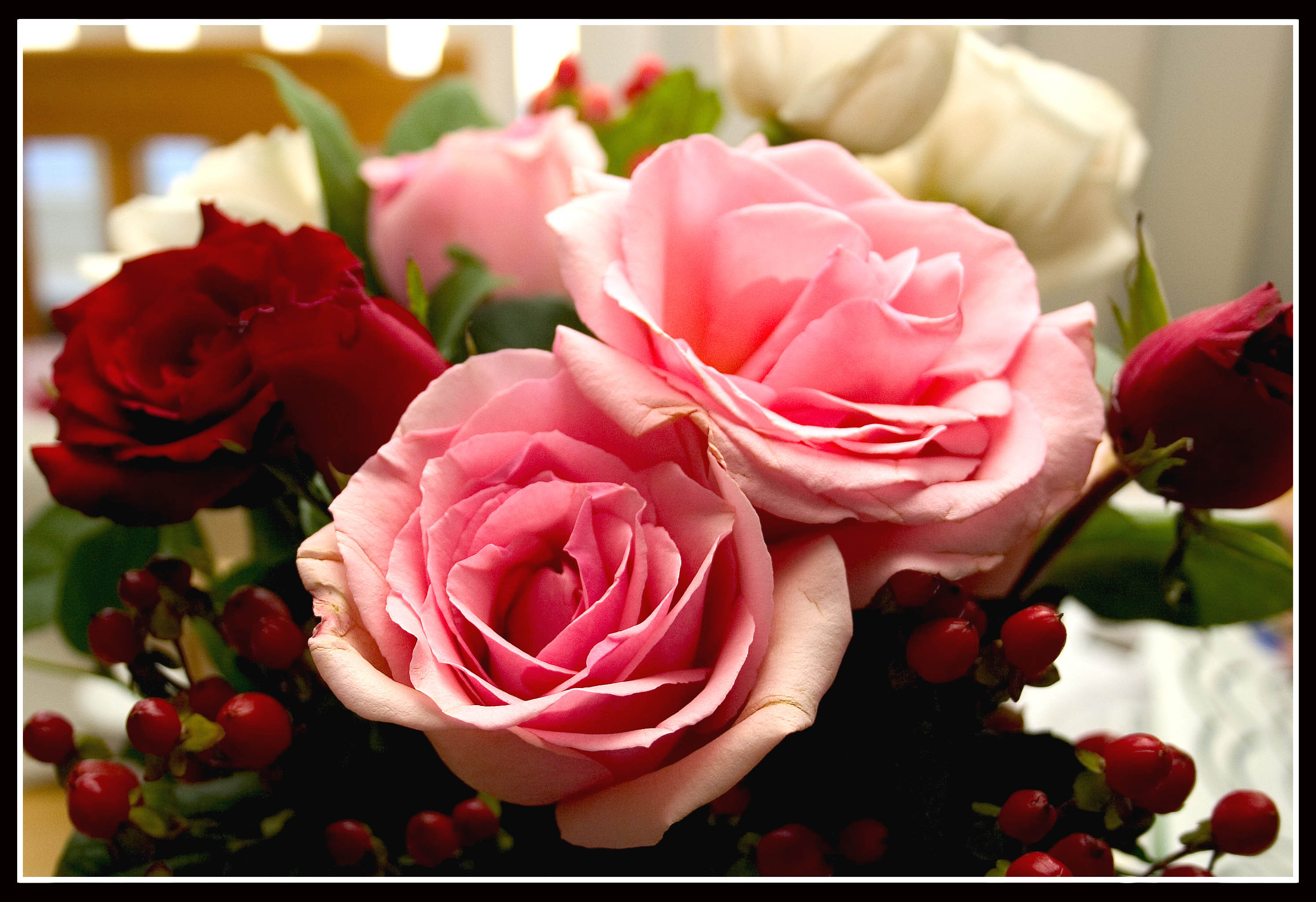 Valentine's Day flowers of choice