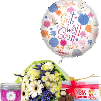 Floral gifts to help a loved one get well soon