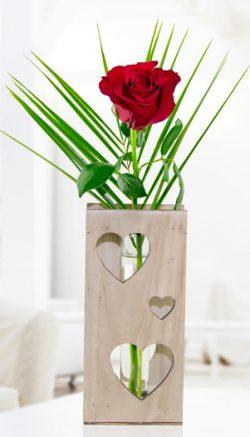 Romantic flowers for him