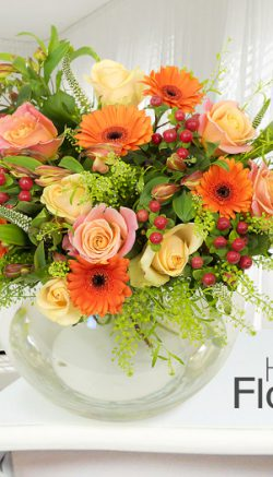 Autumn flowers for your wedding