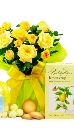 Gifts and flowers to boost morale