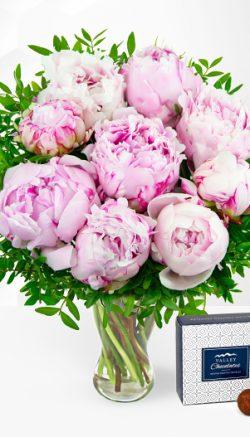 Tea party flowers