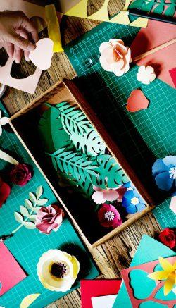 Flower vase craft