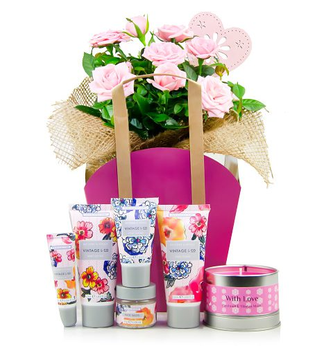 flowers and hampers
