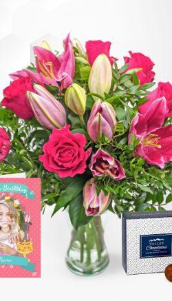 Professional florist flowers